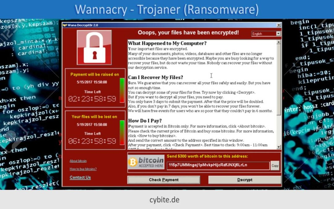 Trojaner Wannacry – Wie kann man sich schützen?