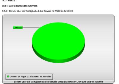 RUNTIME - Bericht über die Verfügbarkeit der IT-Systeme