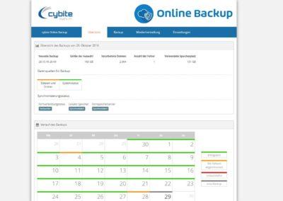 Online Backup - Übersicht